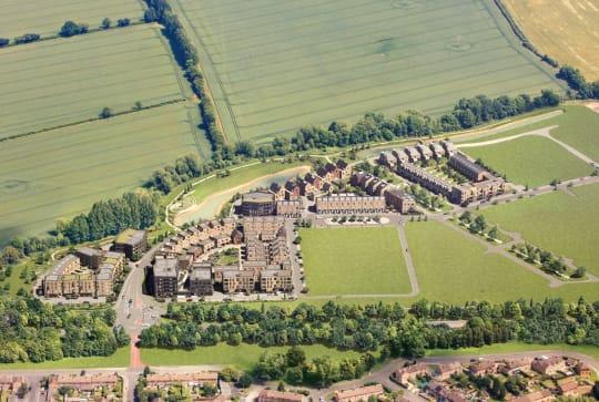 Mosaics Barton Park Aerial View