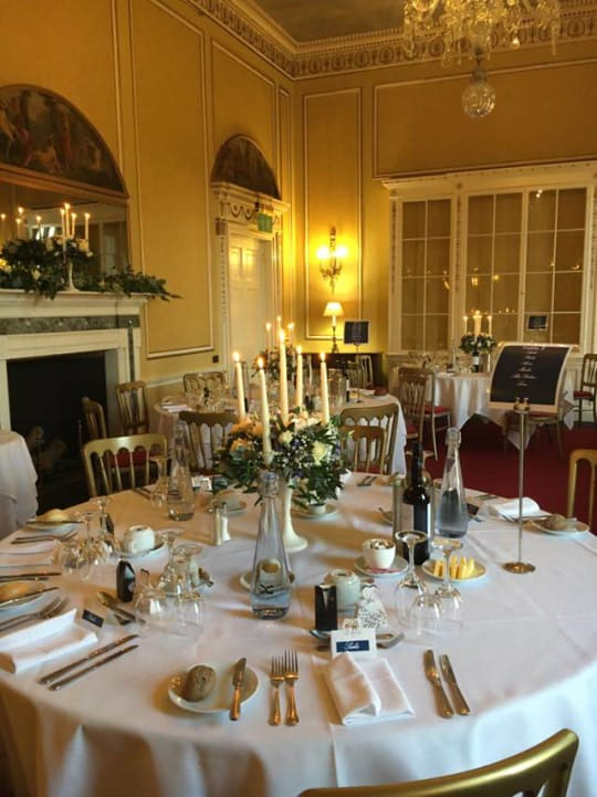 Donnington Grove Country Club Weddings function room layout