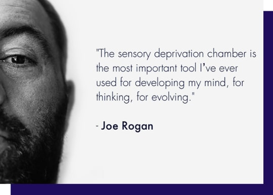 Oxford Floatation Centre Joe Rogan Quote Image