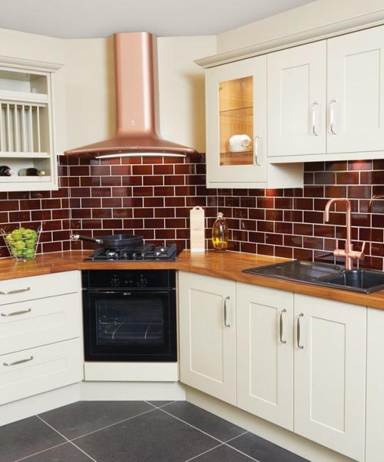 John Nicholls kitchen tilework