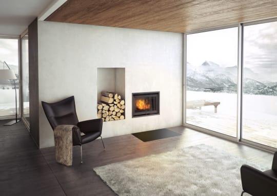Iron and Wood Jotul C 24 Interior