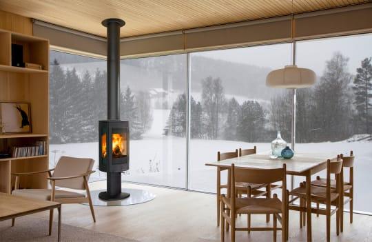 Iron and Wood Jotul F 373 Advance winter