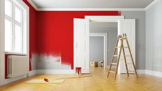 LA Paint Red Walls