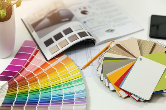 LA Paint Colour Samples