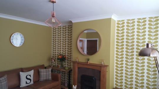 LA Paint Green Paint Walls and Wallpapering