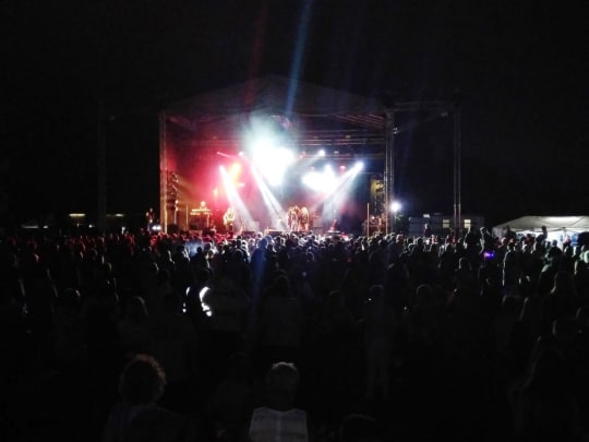 Lechlade Music Festival  main stage
