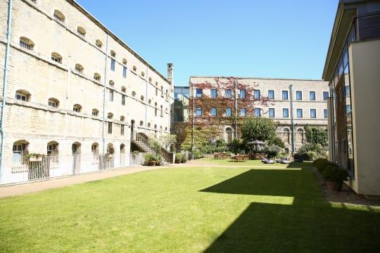 Malmaison courtyard