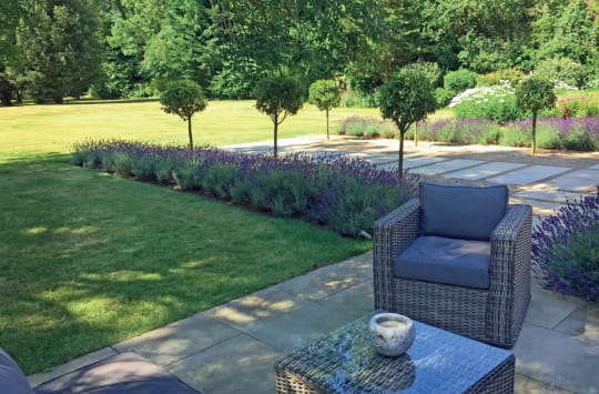 The Oxfordshire Gardener Patio Chair Landscaping