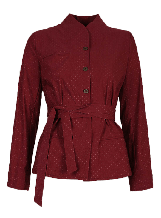 Olivia May Les Filles Dailleurs trousers Red Jacket