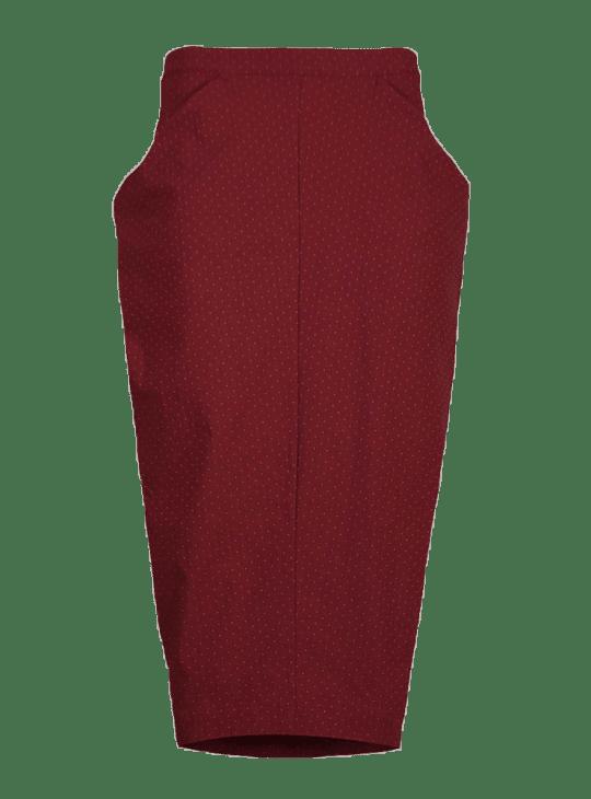 Olivia May Les Filles Dailleurs red polka dot skirt