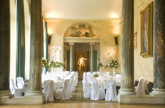 Woburn Abbey Weddings Sculpture Gallery
