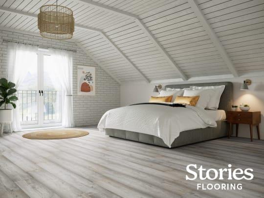 Stories Flooring Large Bedroom Grey Oak mnyqlf