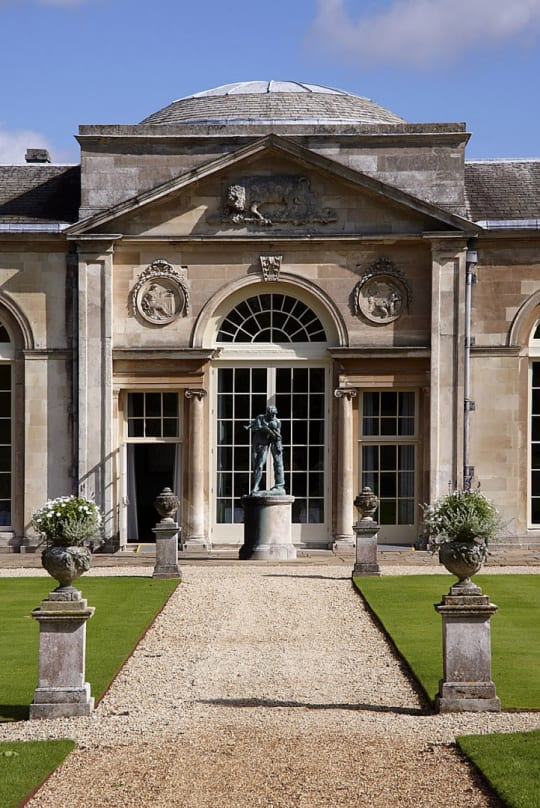 Woburn Abbey Weddings Glass Window and doors
