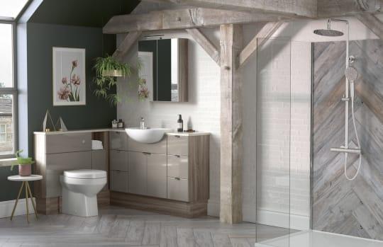 The Cotswold Bathroom Company Bohemian Style Bathroom