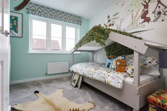 Hampton Meadow Birch Childrens Bedroom