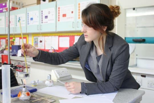 Cokethorpe School science teacher
