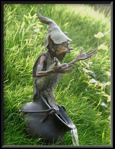 David Goode Cauldron Fountain