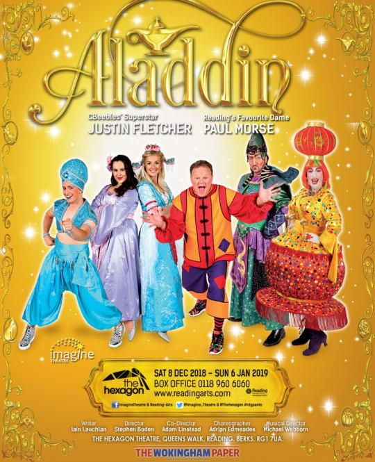 The Hexagon Justin Fletcher Paul Morse Aladdin