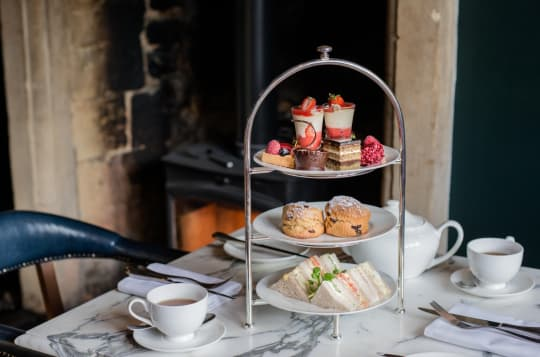 The Lygon Arms Afternoon Tea
