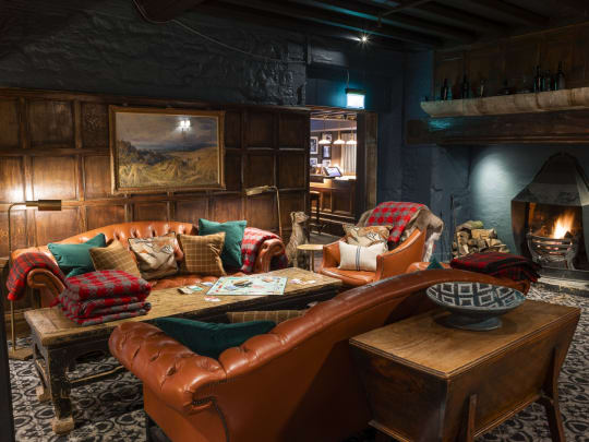 The Lygon Arms Interior Sofas Country Cottage Vibe