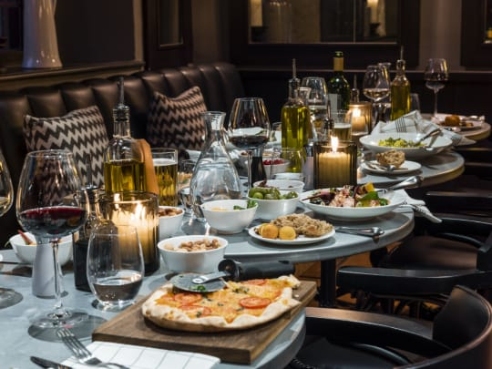 The Lygon Arms Main Meals