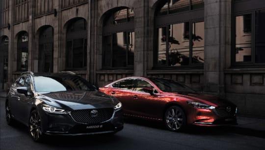 New Mazda Range Grey and Red Metallic