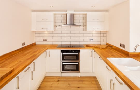 Oakley Wood Timber Kitchen Worktop
