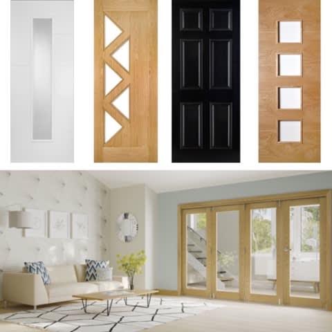 Oakley Wood Timber Door Selection