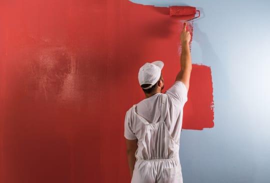 Footprint Maintenance painting