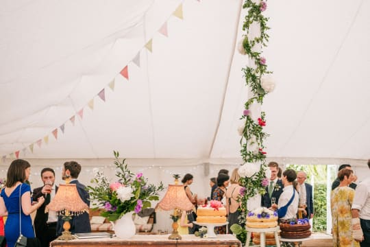 The Perch Free House Weddings Marquee Decor
