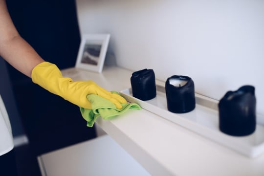 LSA Cleaning Services Polishing Surfaces