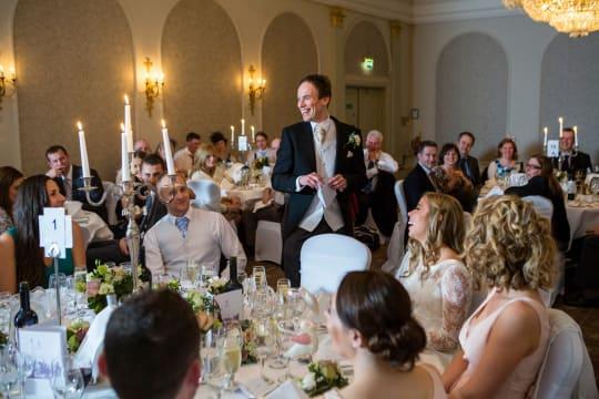 Macdonald Randolph Hotel Weddings Reception setting