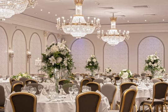 Macdonald Randolph Hotel Weddings Venue setting