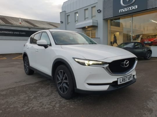 Used Mazda CX-5 2018 (67) plate