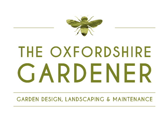 The Oxfordshire Gardener Bee Logo