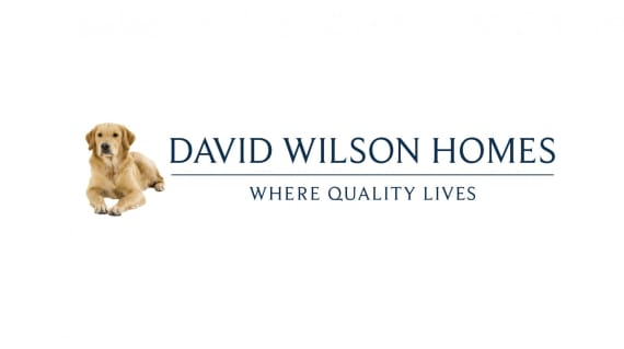 David Wilson Homes Logo Blue