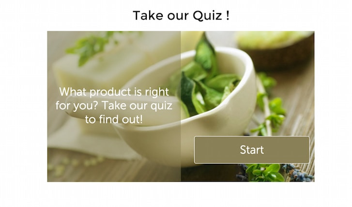 Step 4. Save the page and visit your page to make sure your quiz is properly laid out