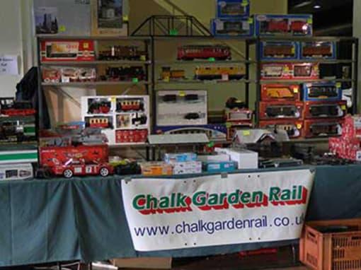 Chalk Garden Rail