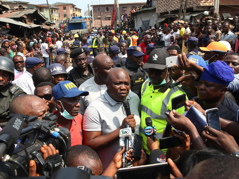 Six More bodies recovered from Lagos school building collapse