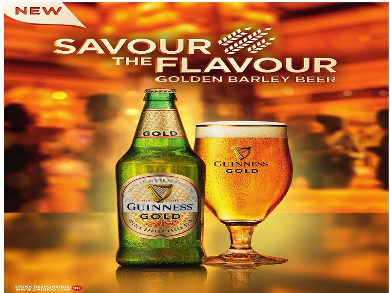 Guinness Nigeria introduces new Premium lager beer, Guinness Gold