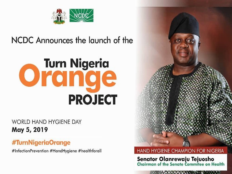 NCDC announces the launch of the Turn Nigeria Orange Project