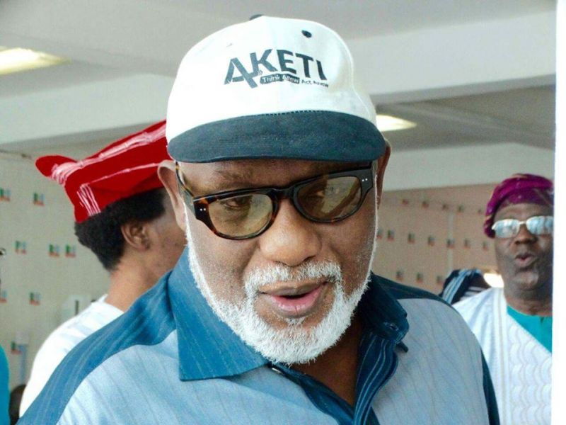 We 'll Partner Professionals To Enhance Civil Service Productivity In Ondo, Says Governor Akeredolu