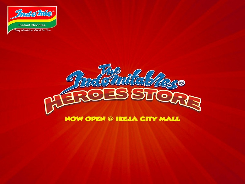Indomie Noodles opens first 'Heroes' store in Ikeja City Mall