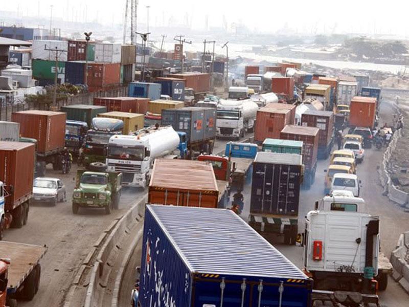 Buhari orders immediate removal of trucks in Apapa