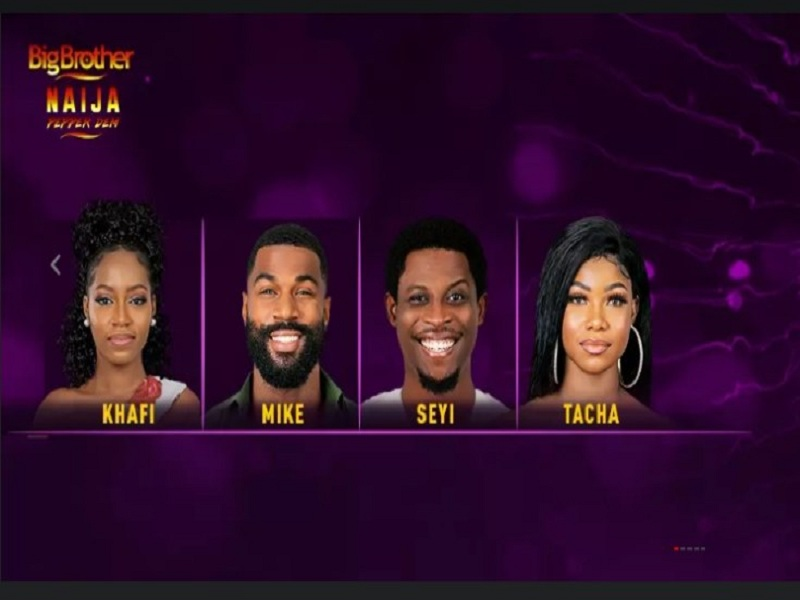 BBNaija Season 4: Khafi, Mike, Seyi and Tacha up for eviction