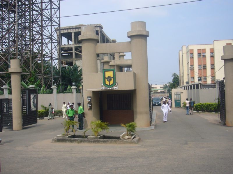 YABATECH receives cleaning materials