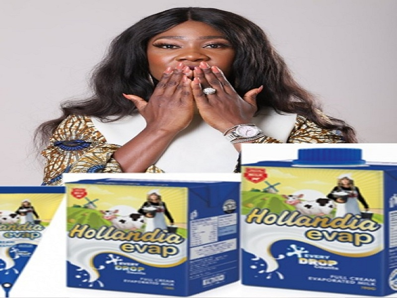 Nollywood Actress, Mercy Johnson-Okojie becomes Hollandia Evap Milk brand Ambassador