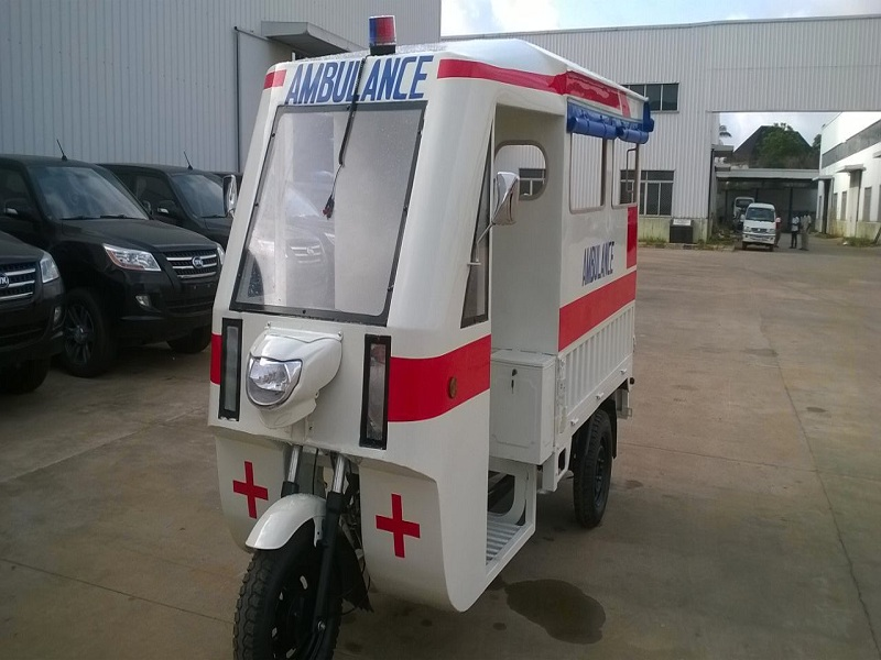 Innoson launches Tricycle Ambulance for quick emergency