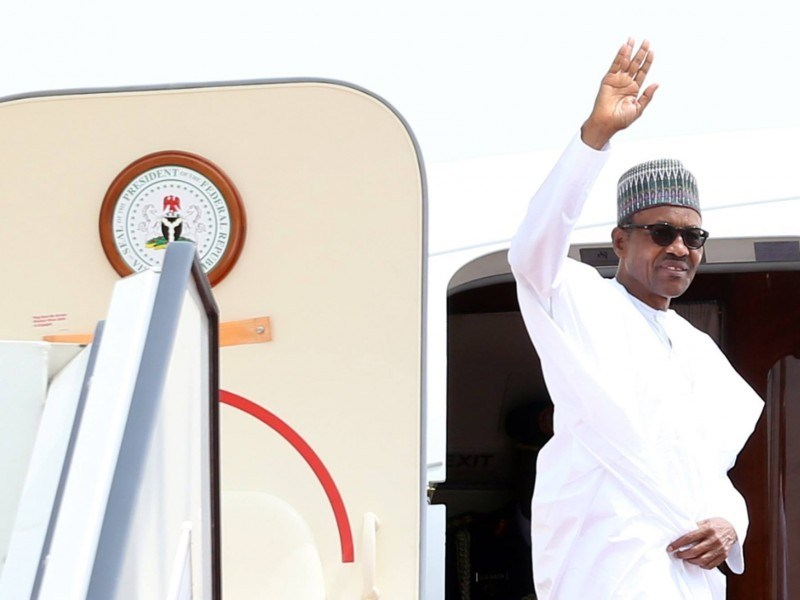 President Muhammadu Buhari leaves Russia For Abuja