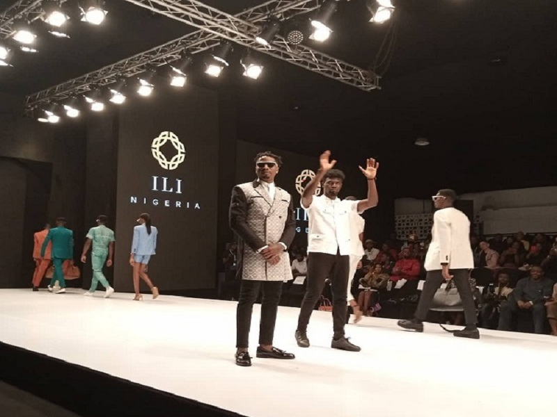 BBNaija Star Ike made his runway debut at the ongoing 2019 edition of the Lagos Fashion Week